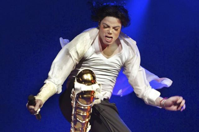 L'albumThrillerde Michael Jacksonest passé de 30 foisdisque de... (AFP, Timothy A. Clary)