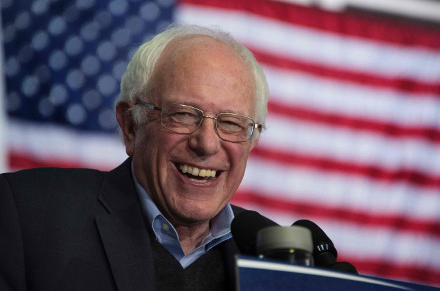«Les sondages indiquent que Bernie Sanders a de... (PHOTO JIM WATSON, AGENCE FRANCE-PRESSE)