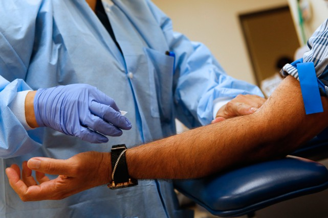 «Seulement 13% des médecins québécois disent que presque... (Photo Patrick T. Fallon, archives Bloomberg)