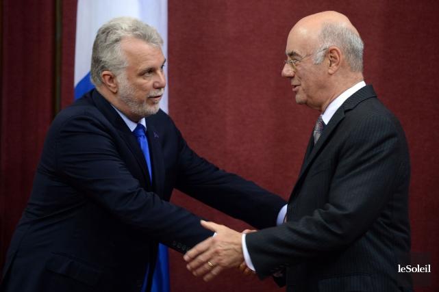 Jacques Daoust est le nouveau ministre des Transports.... (Le Soleil, Erick Labbé)