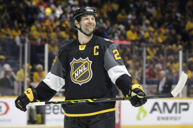 John Scott a été nommé joueur le plus... (Associated Press)