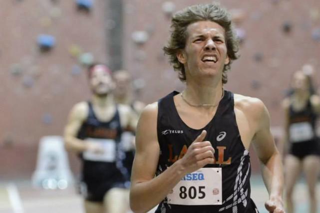Antoine Thibeault est le coureur le plus rapide... (Facebook Rouge et Or)