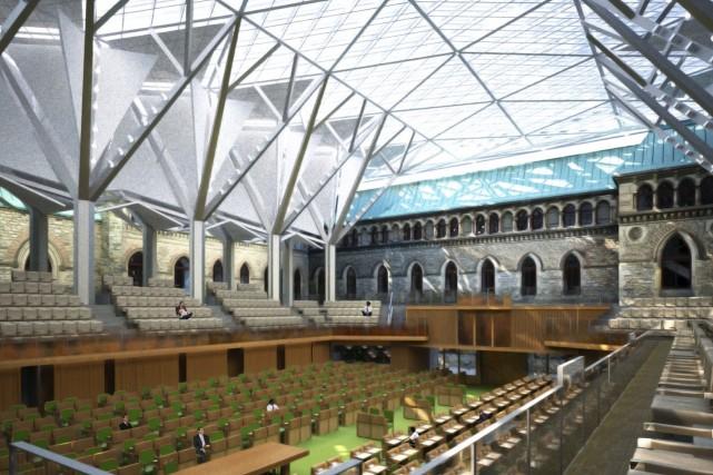 La nouvelle Chambre des communes, qui accueillera les... (Courtoisie)