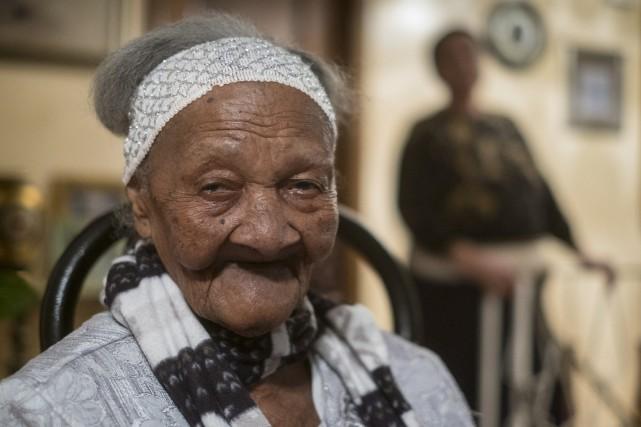 Cecilia Laurent a fêté ses 120ans dimanche. Seuls... (La Presse Canadienne)
