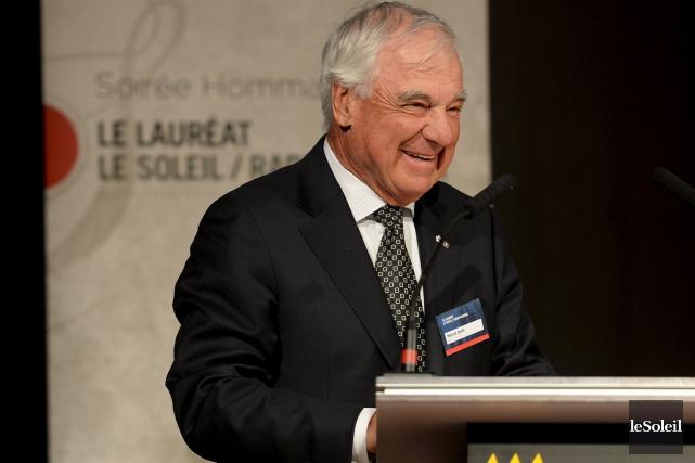 Avec 55 ans de carrière, Marcel Dutil, président... (Le Soleil, Erick Labbé)