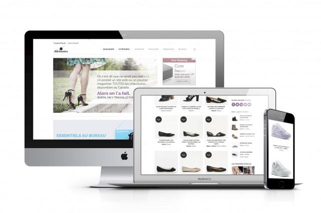 Le site Web Les dilettantes est le premier... (Fournie par Les Dilettantes)