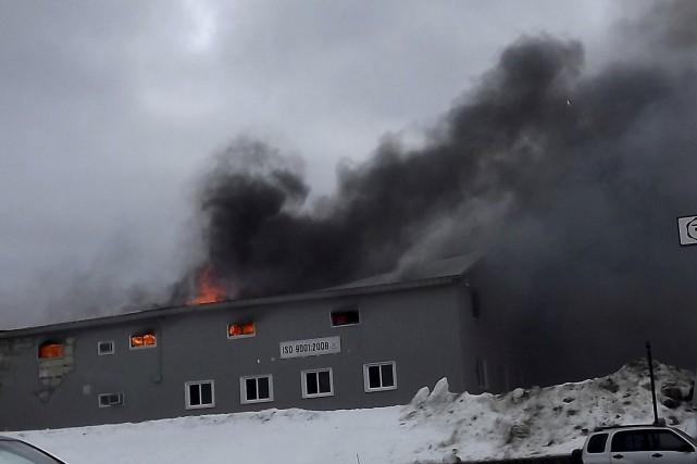L'incendie se serait déclaré dans la chambre de... (Collaboration spéciale, France Lamothe)