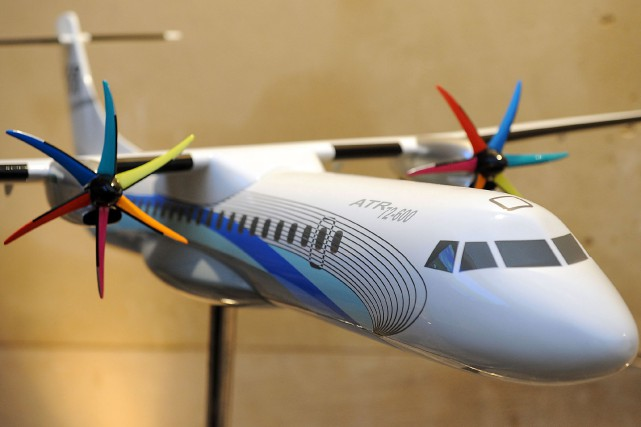 Iran Air a commandé hier 20 avions turbopropulsés ATR 72-600 au constructeur... (Photo Bloomberg)