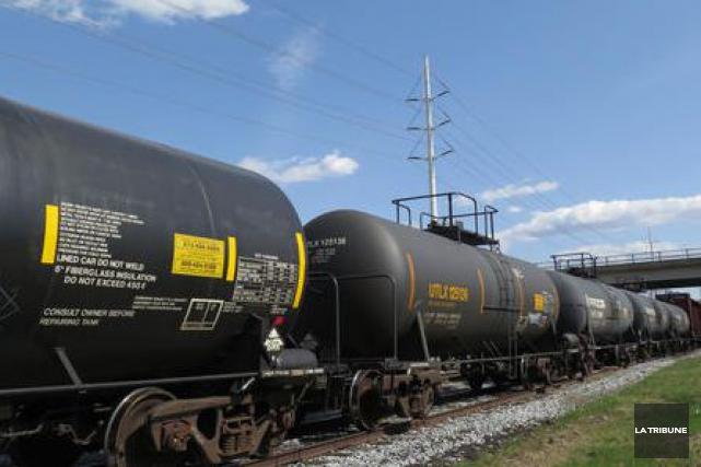 Le président de Central Maine and Quebec Railway (CMQR) a confirmé hier qu'il... (Archives La Tribune)