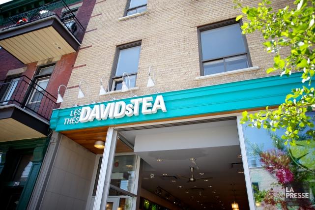 La chaîne montréalaise de boutiques de thé David's... (PHOTO SARAH MONGEAU-BIRKETT, archives LA PRESSE)