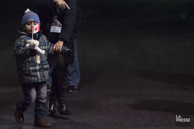 En matière d'aide à la suite de la crise en Syrie, le Canada contribue... (PHOTO NATHAN DENETTE, ARCHIVES LA PRESSE CANADIENNE)