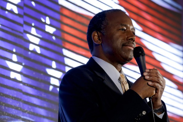 Ben Carson peut dire adieu à ses ambitions... (PHOTO CHRIS CARLSON, AP)