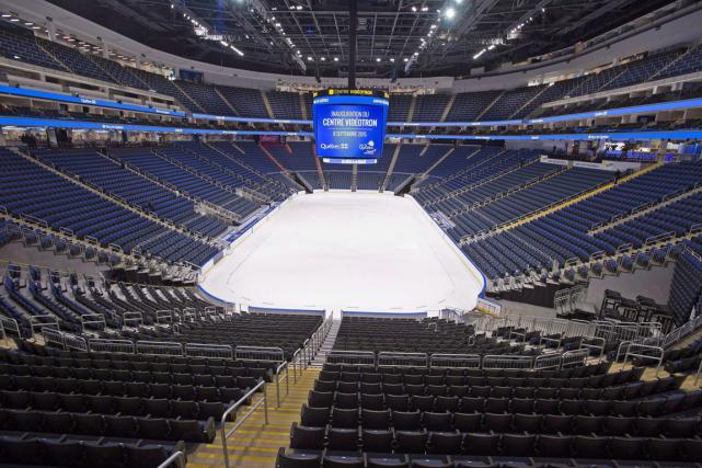 Le Centre Vidéotron de Québec accueillera-t-il une équipe... (Photo Jacques Boissinot, archives PC)