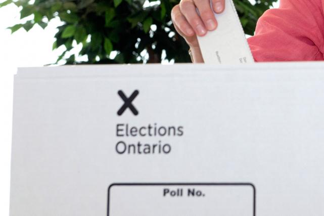 Une élection complémentaire provinciale en Ontario commence à ressembler à un... (Photo Frank Gunn, archives PC)