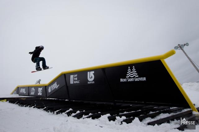 Le Shakedown apermis de révéler plusieurs athlètes québécois... (Photo Ivanoh Demers, archives La Presse)