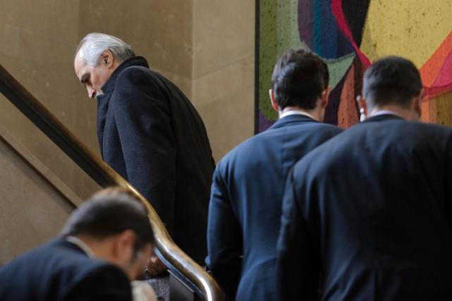 L'ambassadeur syrien à l'ONU, Bachar al-Jaafari... (PHOTO FABRICE COFFRINI, AFP)