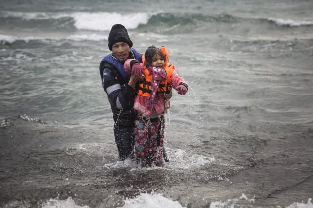 «Les enfants constituent aujourd'hui 36% de ceux qui... (PHOTO SANTI PALACIOS, AP)