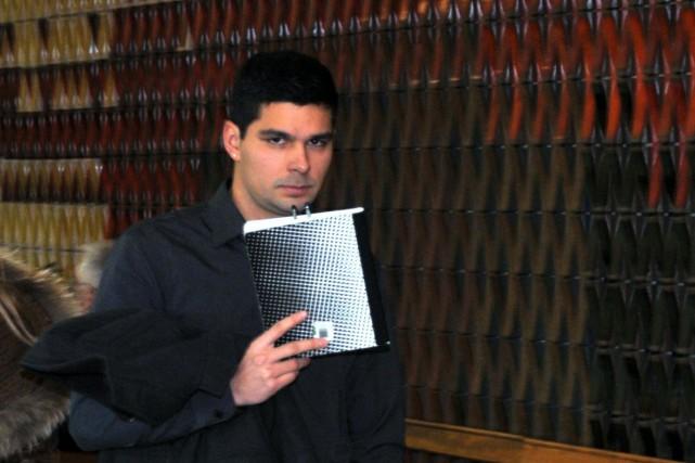 Ian Martinez est accusé d'avoir agressé sexuellement une... (Photo collaboration spéciale Éric Beaupré)
