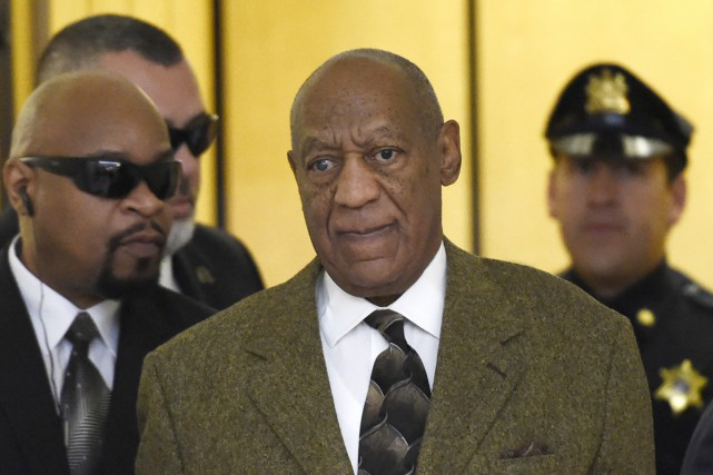 Bill Cosby à son arrivée au tribunal de Norristown.... (PHOTO ARCHIVES REUTERS)