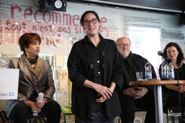 La directrice générale et artistique d'Espace Go, Ginette... (PHOTO MARTIN CHAMBERLAND, LA PRESSE)