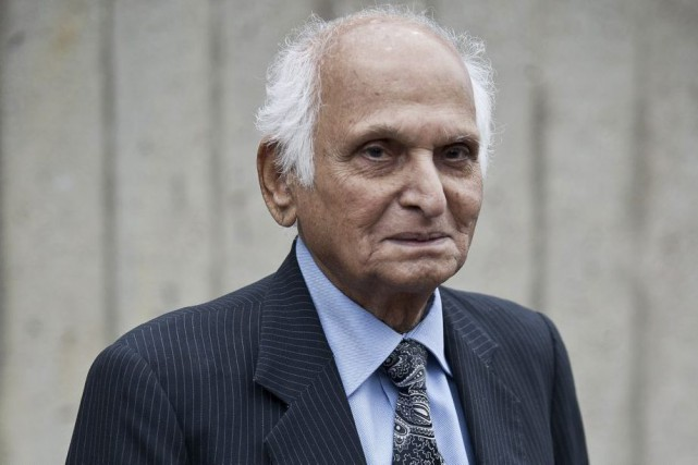 Intizar Hussain en mai 2013.... (PHOTO ARCHIVES AFP)