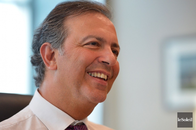 Le président du Conseil du trésor, Sam Hamad,... (Le Soleil, Yan Doublet)
