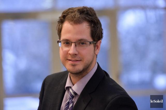 Jean-Philippe Joncas est planificateur financier et fiscaliste à... (Le Soleil , Caroline Grégoire)