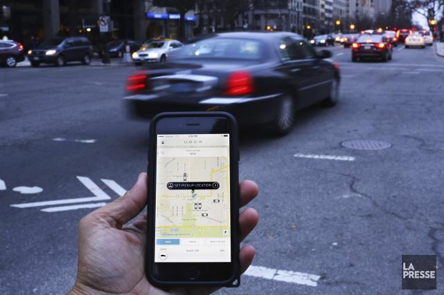 Le RTAM (Métallos) dépose une requête en injonction permanente contre Uber. Que... (AFP, Andrew Caballero-Reynolds)