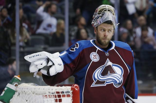 Semyon Varlamov... (PHOTO AP)