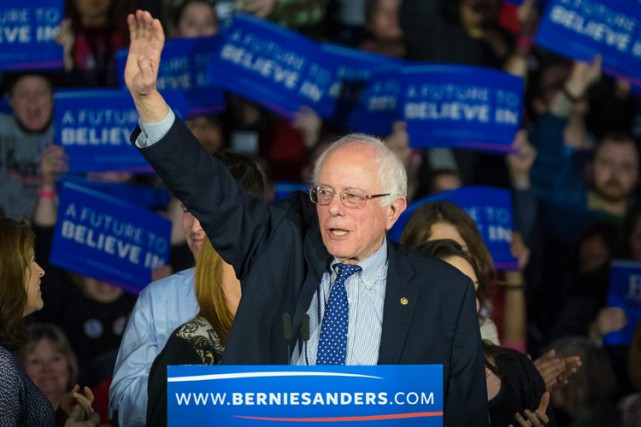 Bernie Sanders... (PHOTO AP)
