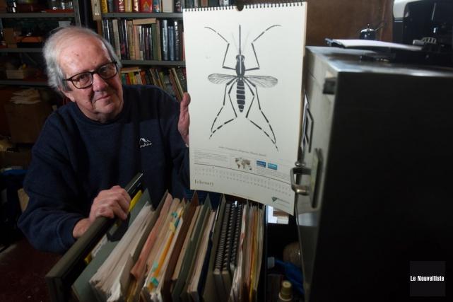 Jacques Boisvert est un spécialiste des insectes piqueurs... (François Gervais, Le Nouvelliste)