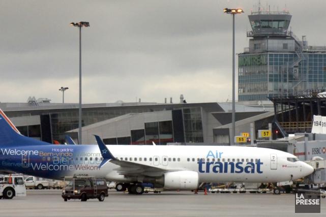 Les pilotes d'Air Transat sont sans contrat de... (archives La Presse)