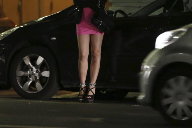 La prostitution est légale en Allemagne depuis 2002.... (AFP, Valery Hache)