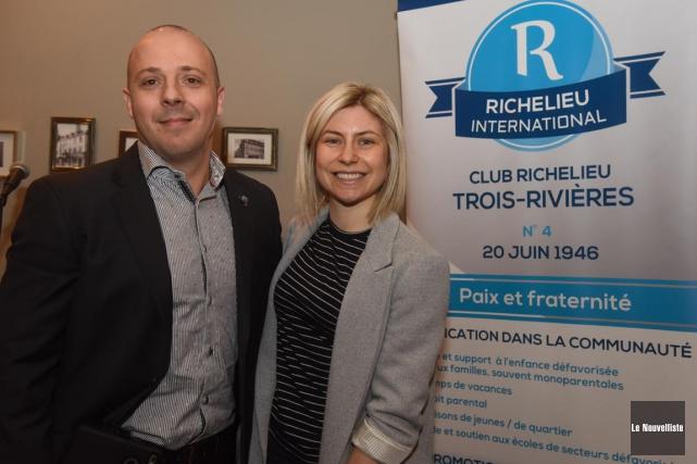Le président du club Richelieu de Trois-Rivières, Pierre... (François Gervais, Le Nouvelliste)