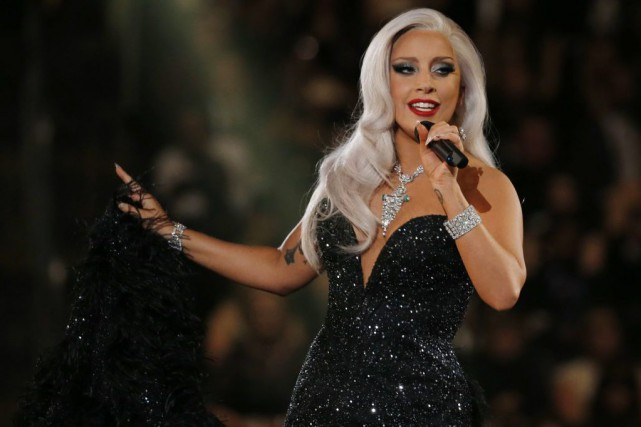 Lady Gaga... (Photo Reuters)
