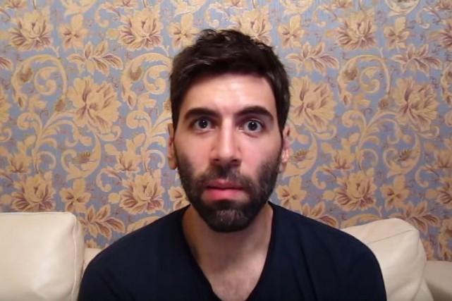 Le controversé blogueurDaryush Valizadeh, alias Roosh V... (Tirée de YouTube)