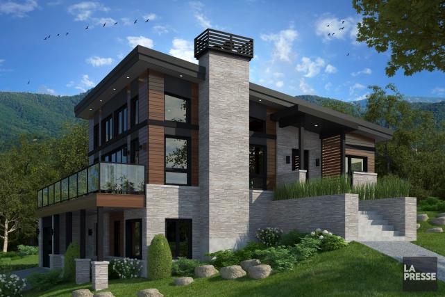 Maisons Laprise exposera son tout nouveau modèle Vista... (fournie par Maisons Laprise)