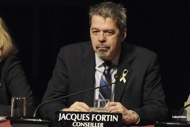 Jacques Fortin, conseiller... (Archives Le Quotidien, Mariane L. St-Gelais)