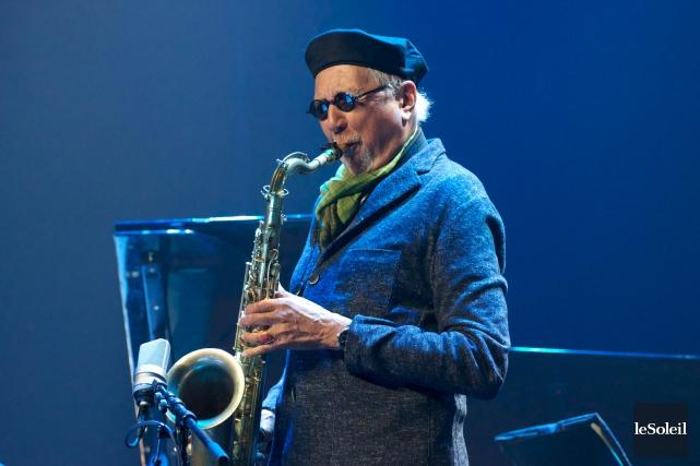Le jazzman Charles Lloyd... (Photothèque Le Soleil)