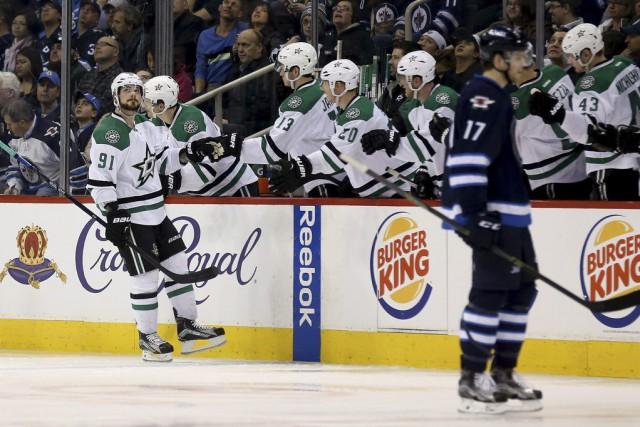 Tyler Seguin a inscrit deux buts et les Stars de Dallas ont vaincu les Jets de... (PHOTO PC)