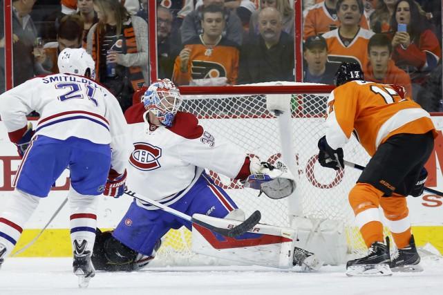 Wayne Simmonds permet au Flyers de prendre les... (AP, Matt Slocum)