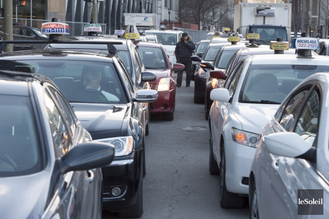 La frustration est grande pour les chauffeurs de... (Archives La Presse canadienne)