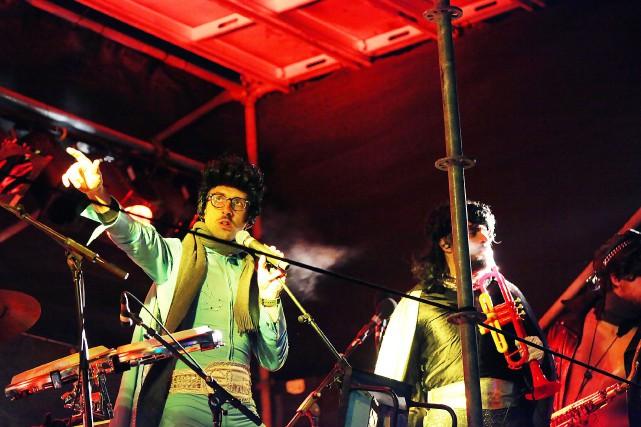 Misteur Valaire au Elvis Gratton Picture Showdu festival... (PHOTO MARC-ANDRÉ LAPIERRE, FOURNIE PAR SPECTRA)