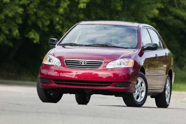 Toyota Corolla 2008... (PHOTO FOURNIE PAR TOYOTA)