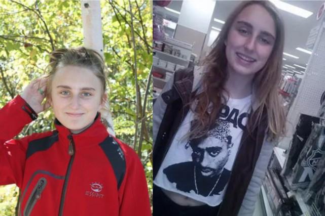 Ely-Anne Lafond, 14 ans... (Photo fournie par le Service de police de la Ville de Québec)