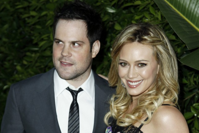 Hilary Duff et Mike Comrie en 2011.... (PHOTO ARCHIVES AP)
