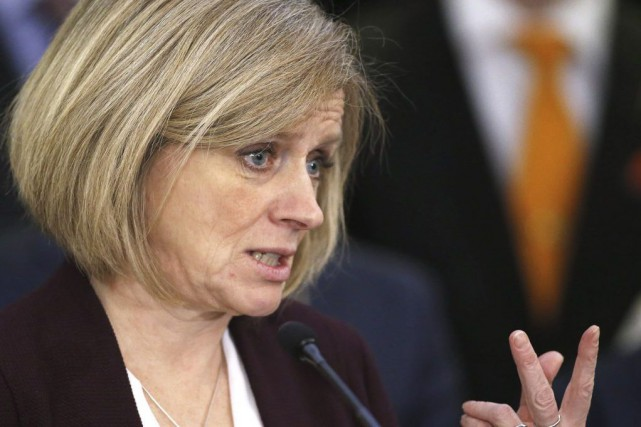 Rachel Notley.... (Photo Larry MacDougal, Archives La Presse Canadienne)