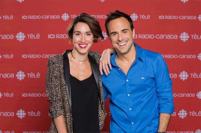 Bianca Gervais et Sébastien Benoit animeront Le combat... (PHOTO FOURNIE PAR RADIO-CANADA)