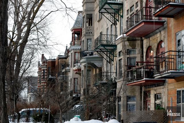 L'avenue de l'Esplanade, en face du parc Jeanne-Mance,... (PHOTO OLIVIER JEAN, LA PRESSE)