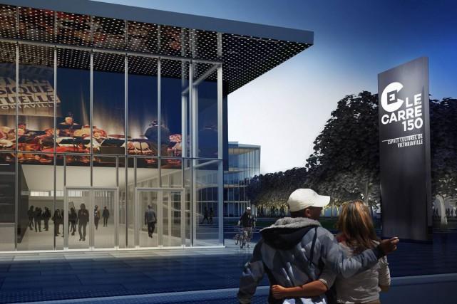 Le Carré 150, cette salle de spectacle ultramoderne inaugurée en grandes pompes... (Photo tirée de Facebook)